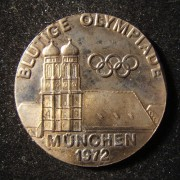 Munich 'Bloody Olympics' [terror attack] Games commemorative medal, 1972