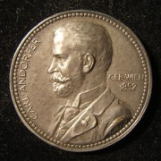 Austria: Carl Andorfer commemorative bronze medal by Pawlik, 1893