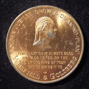 US: Weisfield & Goldberg Jewelers (Wash. State) $2.50 store token
