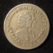 US: Nathan and Rose Goldberg's Propect Theater 50 Cent token