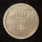 US: Gottliebs Laden 50-Cent Token aus Aluminum