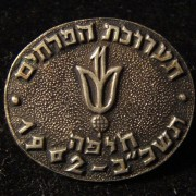 Israel: Participation pin of the 11th 1961