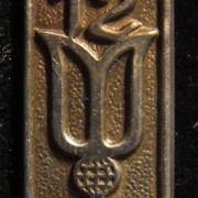 Israel: Participation pin of the 12th 1962