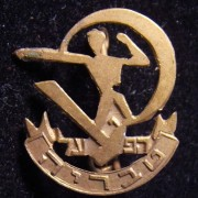Membership pin of the HaPoel football club of Tiberias, circa. 1960s; size: 16.5 x 19mm; weight: 0.95g. The club was founded at the Kibbutz in 1953 and reached prominence in 1961-6