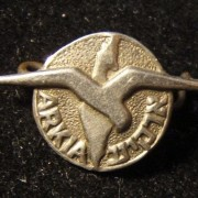 Israel: emblem pin of