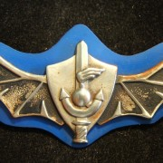 Tunic qualification badge for a combat diver, often associated with the elite naval