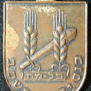 Uniface bronze tallion of the 1962 assembly of the