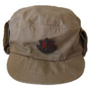First version Israeli Army 'Hitelmacher' hat with badge, c. 1948