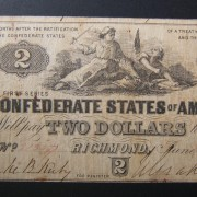 US > Confederate States of America: $2 uniface