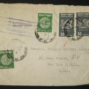 1950 1st airmail / PO's, rates & routes: 1-1-1951