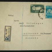 1950 1st airmail / PO's, rates & routes: 20-11-50